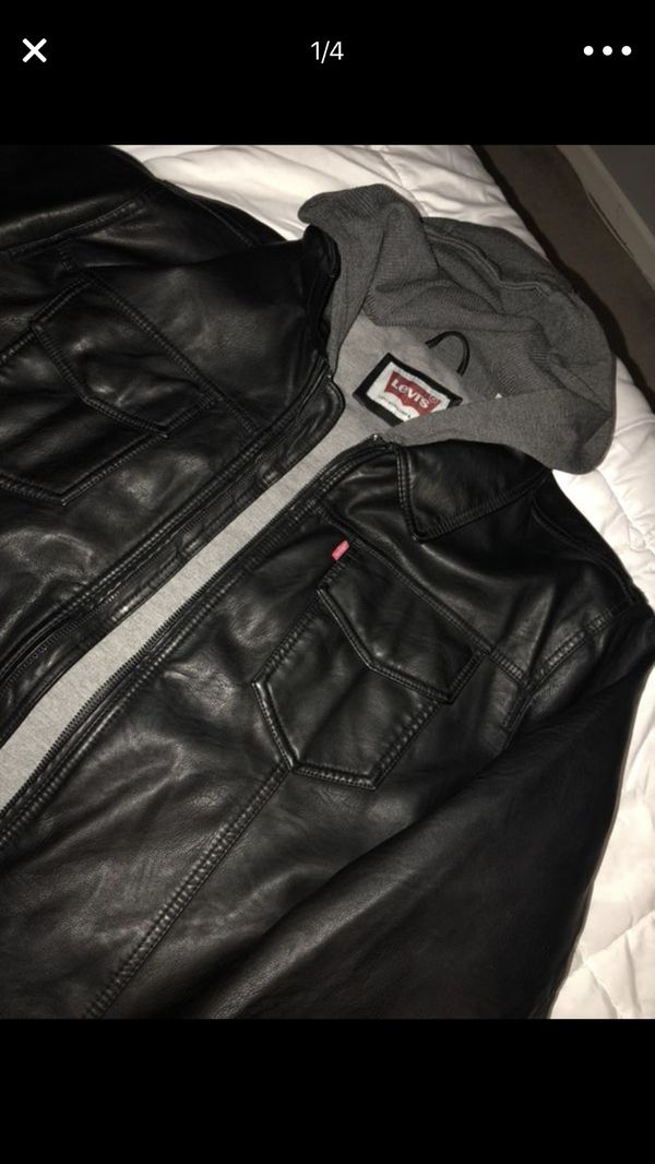 Men\'s leather Levi jacket xxl for Sale in Port St. Lucie, FL - OfferUp