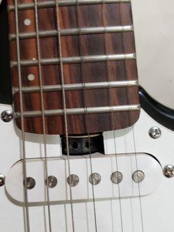 Lyon. Guitar signed by weezer Thumbnail