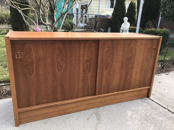Danish Modern Credenza For Sale : Mid century modern danish teak credenza for sale in fircrest wa