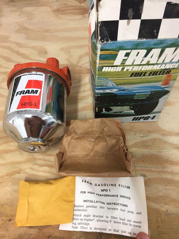 fram fuel filter kit