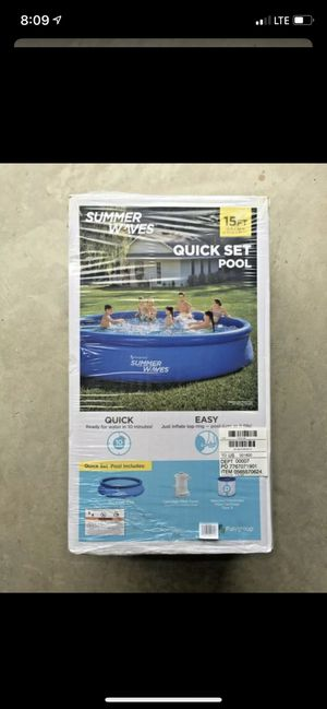 Photo SummerWaves Quick Pool Set 15FT