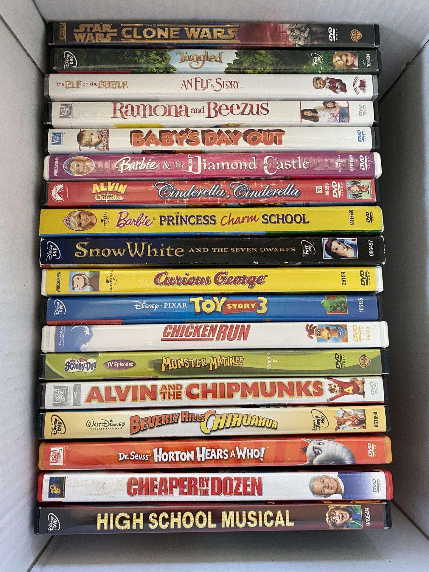 Disney Movies & More + DVD Player