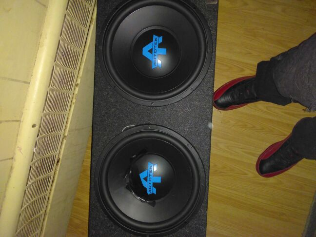 Auto Tek 12in speakers