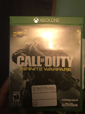 Xbox one Call of duty infinite warfare for Sale in Hyattsville, MD