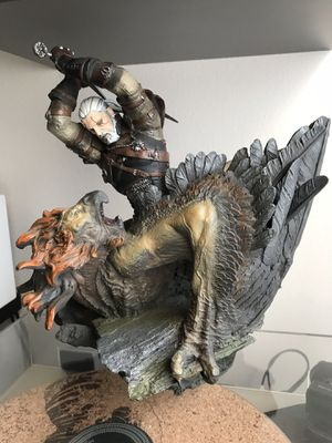 "Limited Edition Witcher 3 statue: ""Geralt Battling a Griffin"" for Sale in Los Angeles, CA"