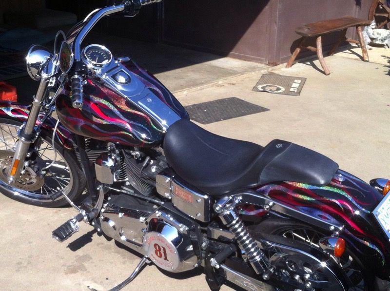 2005 Harley Davidson wide glide