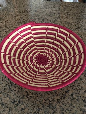 Hand made Kenya Basket for Sale in Fairfax, VA