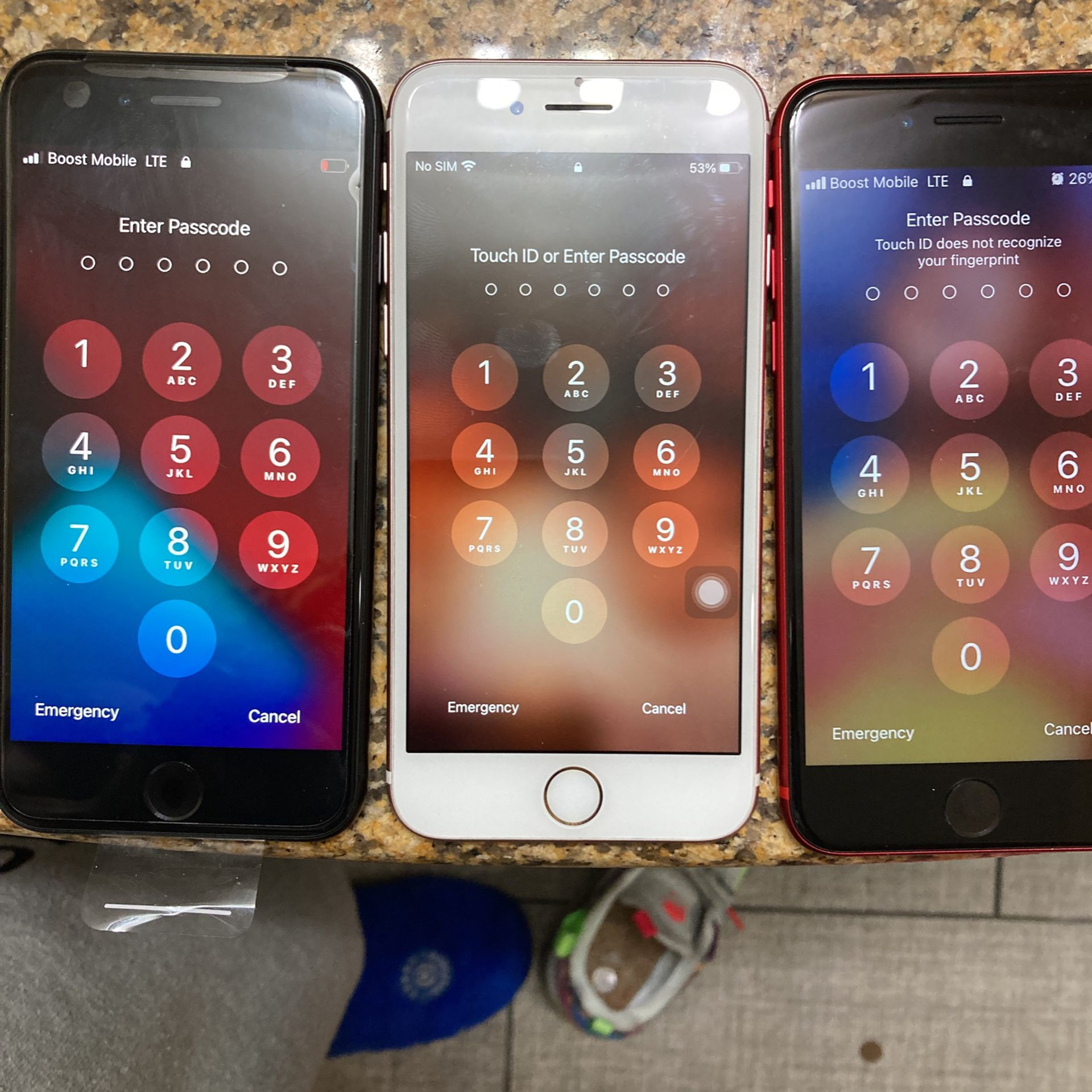 Iphone SEs And iPhone 7