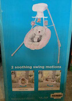 Fisher Price Snugabear Sweetie Cradle & Swing Thumbnail