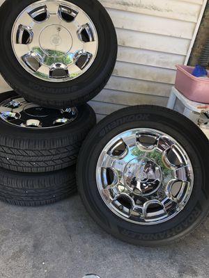4 Cadillac 16 Inch Rims w/Caps for Sale in Washington, DC