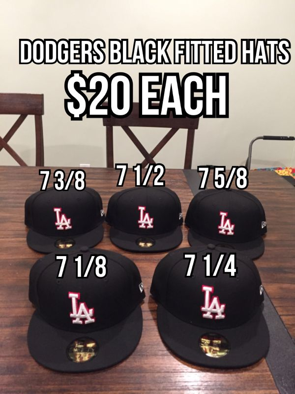 ac02e041 Los Angeles Dodgers New Era MLB Black Red Out 59FIFTY Fitted hats for Sale  in La Puente, CA - OfferUp