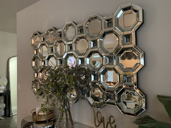 Z Gallerie Axis Floor Wall Mirror For Sale In Liberty Lake