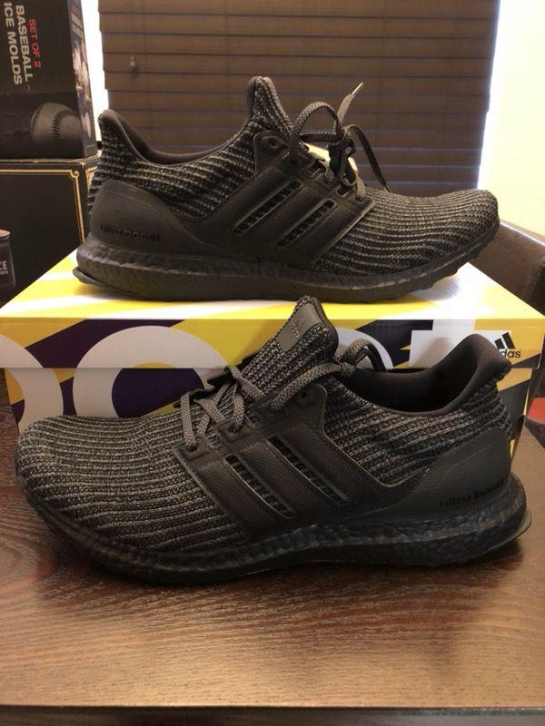 92f9ca9576 Men s ADIDAS Ultra Boost 4.0 BB6171 Triple Black Size 12 Shoes UltraBOOST  NMD