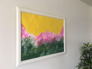 """""""COLORFUL""""positive abstract painting art piece"""". 100% original for Sale in Arlington, VA"""