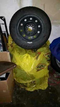 Winter cat tires