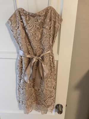 Strapless Size 12 formal knee length gown for Sale in San Diego, CA