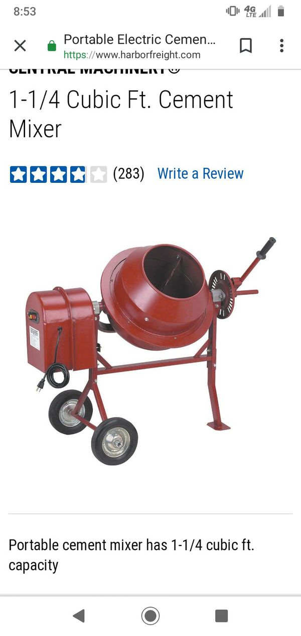 Mini cement mixer for Sale in San Diego, CA - OfferUp