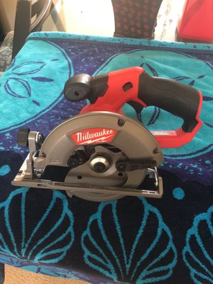 M12 FUEL 12-Volt Lithium-Ion Brushless Cordless 5-3/8 in. Circular Saw (Tool-Only) w/ 16T Carbide-Tipped Metal Saw Blade for Sale in Bristow, VA
