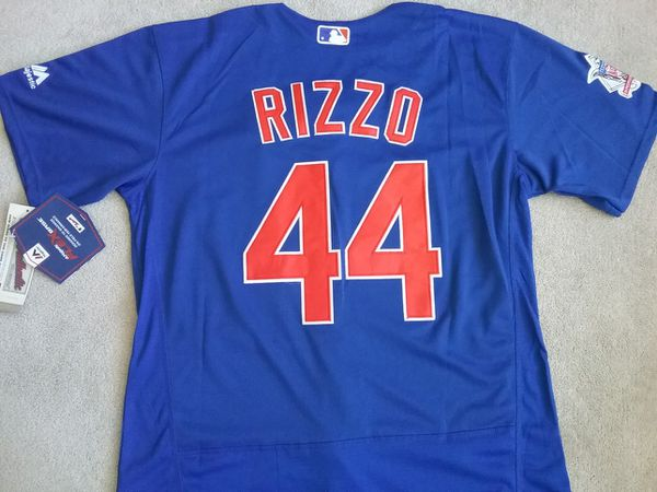 big sale e69d8 05c63 Chicago Cubs Blue Rizzo Jersey Adult XL for Sale in Chicago, IL - OfferUp