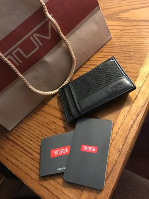 TUMI money clip wallet for Sale in Inwood, WV