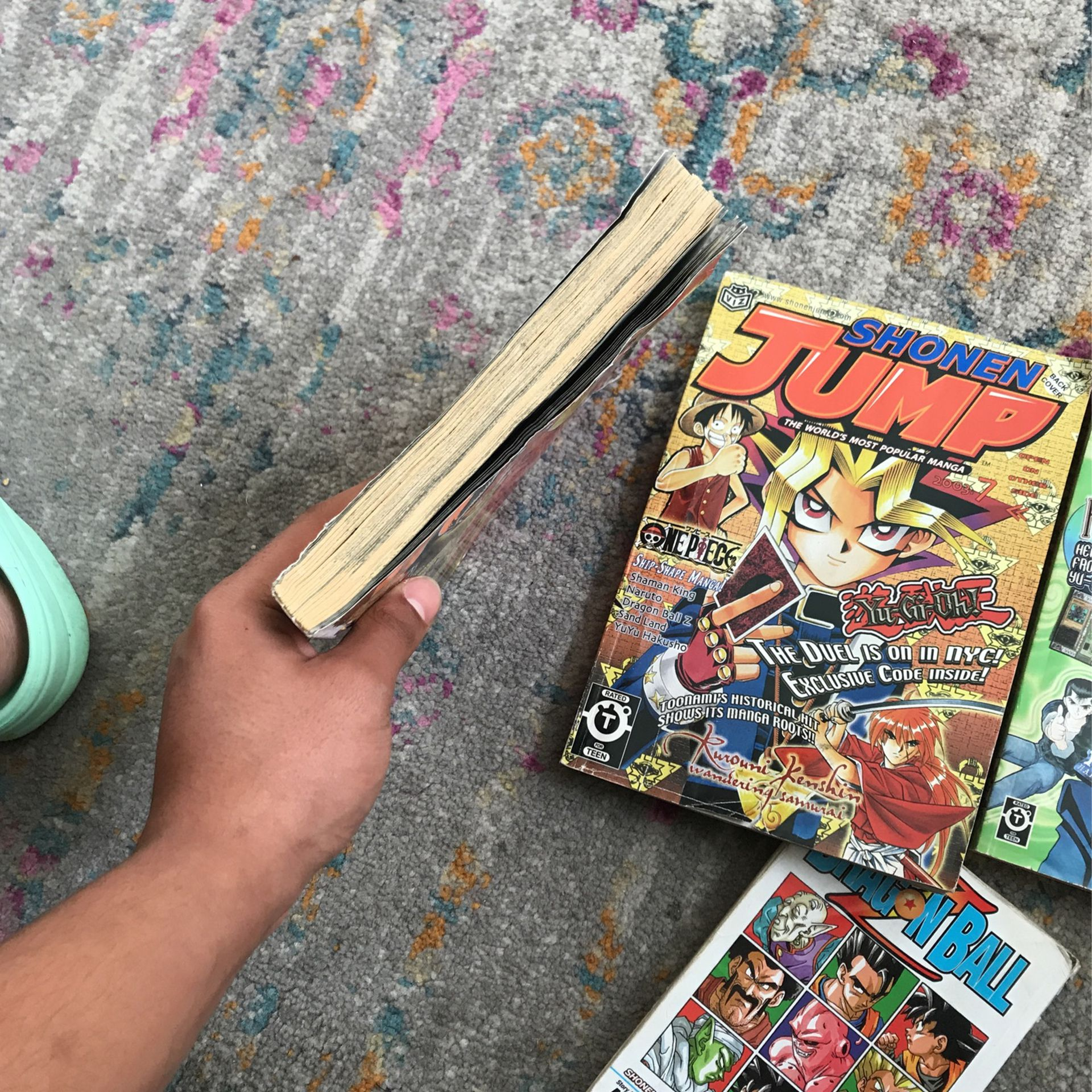 Collecter Items, Shonen Jump manga