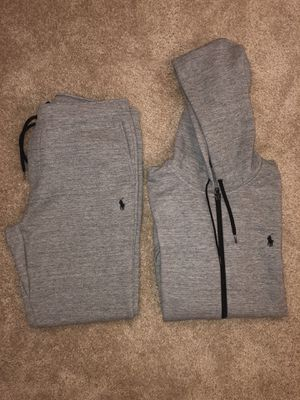 Ralph Lauren Polo Men's Jogger Sweat suit BRAND NEW!!! size Large for Sale in Adelphi, MD