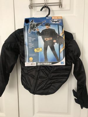 Brand new Batman Halloween costume size: M (8-10) (pick up only) for Sale in Alexandria, VA