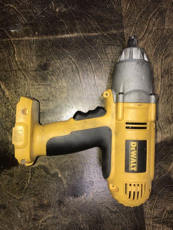 Dewalt Dw059h 1 2 18v Cordless Impact Wrench