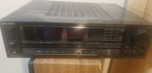 Sony receiver. Older but works great for Sale in Gaithersburg, MD