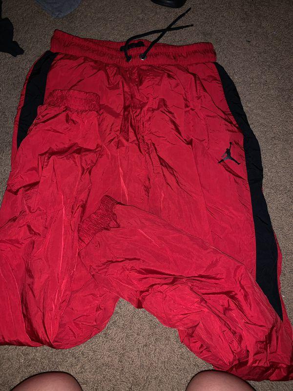 5ddd47591af560 Red Jordan windbreaker sweats for Sale in Garden Grove