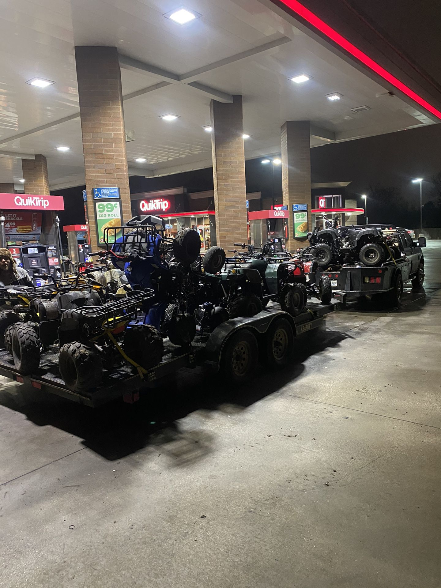 Photo Atv for sale runs and drive gud kids and adults