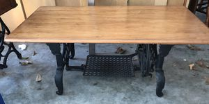 treadle sewing machine table for Sale in Mims, FL