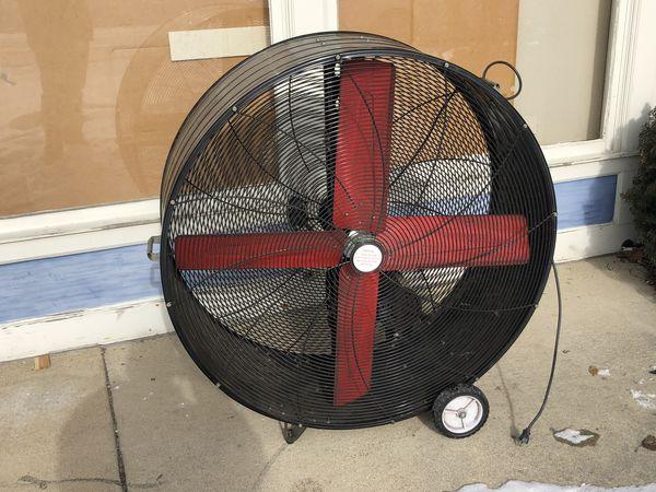 """Huge 48"""" 2 speed drum fan garage shop for Sale in Arlington Heights, IL -  OfferUp"""