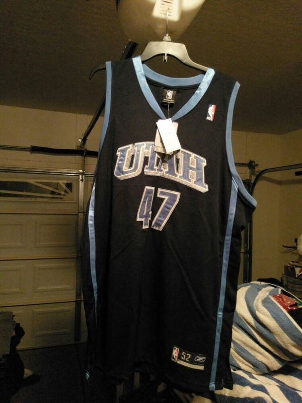 880b4b728   BRAND NEW WITH TAGS   UTAH JAZZ ANDREI KIRILENKO JERSEY SIZE 52 for Sale  in Gilbert