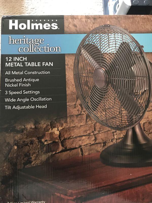 12inc Metal Table Fan