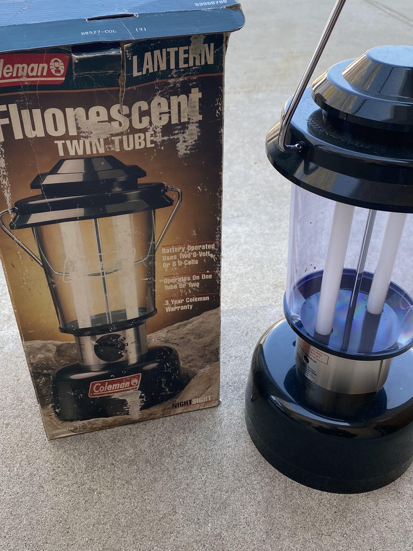 Fluorescent Twin Tube Lanter