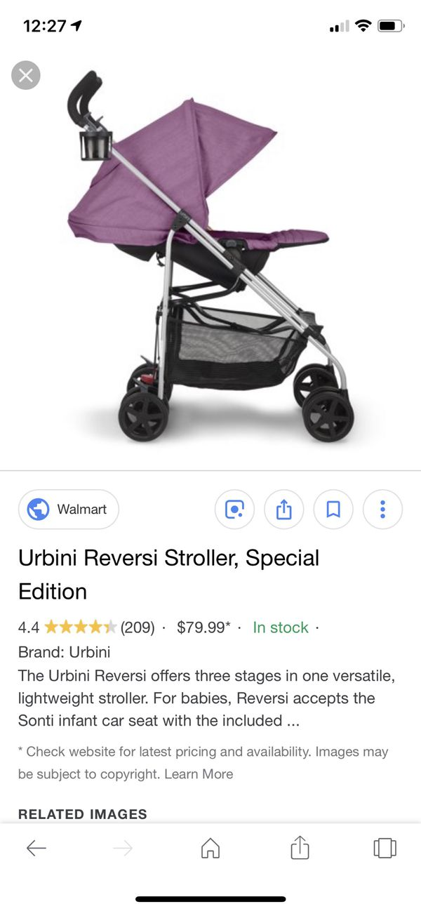 Urbini Reversi Stroller For Sale In New Bedford Ma Offerup