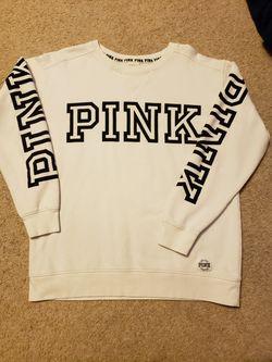 VS Pink Crewneck Small Thumbnail