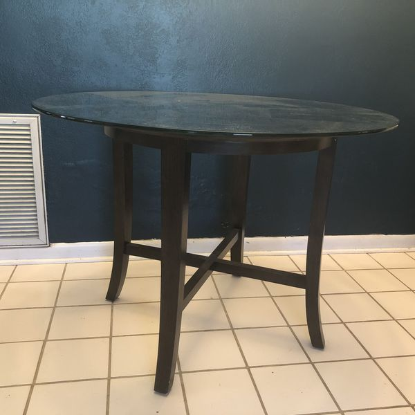 West Elm Glass Top Kitchen Table for Sale in Orlando, FL - OfferUp