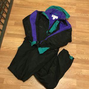 vintage Columbia ski suit Aqua MEDIUM for Sale in Baltimore, MD
