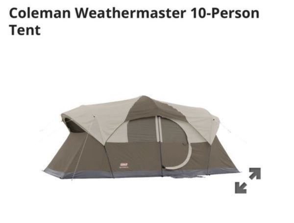 d0204cdbe2b Coleman Weathermaster 10-Person Tent $85 OBO This tent is in great clean  condition only used once!!!