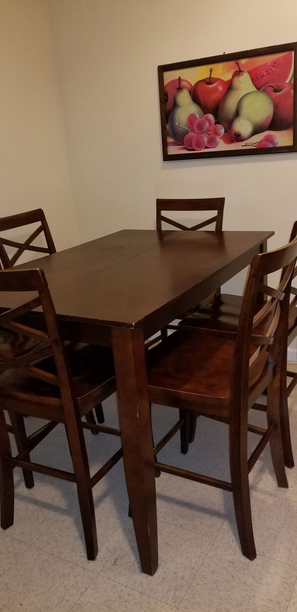Tall dining room table for Sale in Brawley, CA - OfferUp