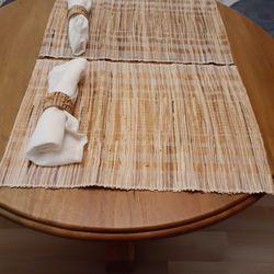 Bamboo 2 Set Placemats  Thumbnail