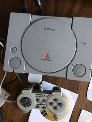 PlayStation 1 with games for Sale in San Diego, CA