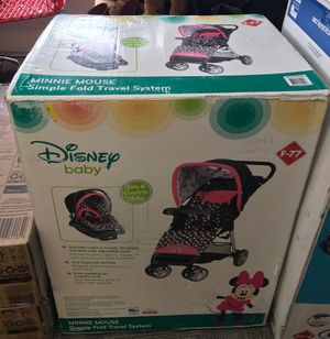 Photo New in box New stroller / car seat with adjustable base -$99.00