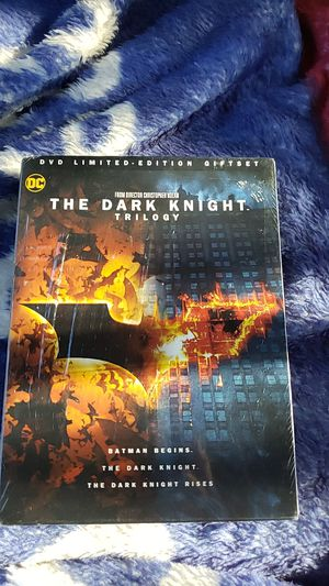 The Dark Knight Trilogy DVD for Sale in Rancho Cucamonga, CA
