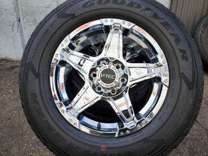 Photo 18 Wheels Rims Goodyear tires GM 6 Lug
