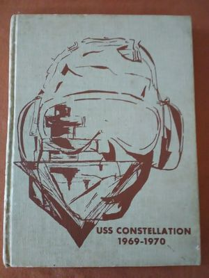 USS Constellation CVA-64 Cruise Book US Navy 1969-70 Vietnam Era for Sale in Orlando, FL