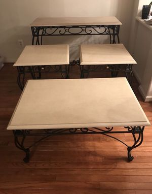 4 Piece Stone Table Set for Sale in Centreville, VA