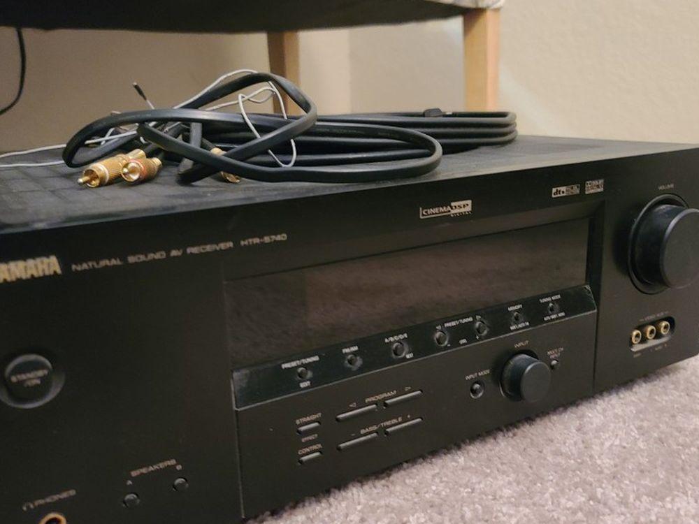 Yamaha Natural AV Receiver HTR-5740